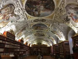 Theology Hall at the Strahov Monastery Library