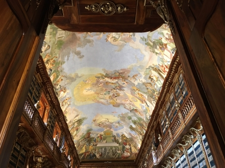 Philosophy Hall at the Strahov Monastery Library