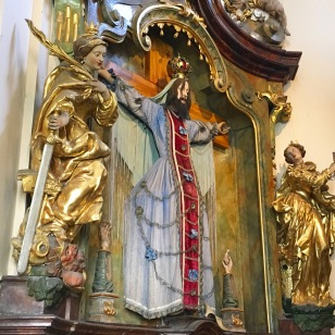 St. Bearded Woman at the Loreta