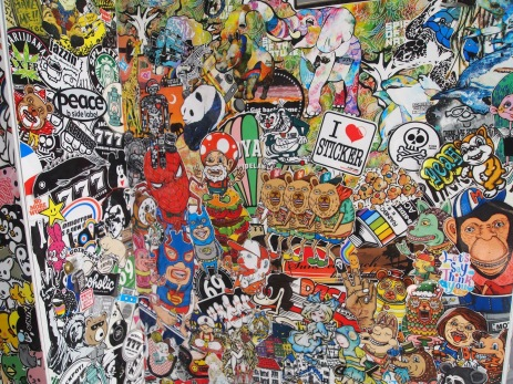 stickers at Shimo-Kitazawa