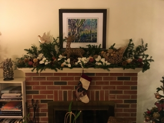 My sister-in-law's mantle