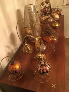 beautiful ornament display