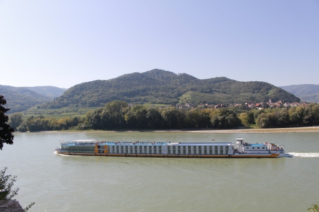 the Danube in the Wachau Valley