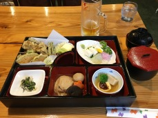 Monk's meal in Nikko