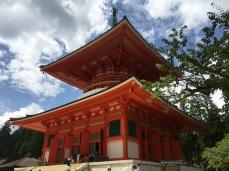 Konpon Daito at Dai Garan in Koyasan