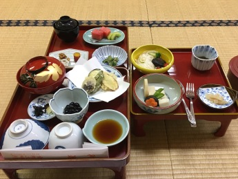 monk's meal at Kongo Sanmaiin