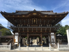 Somon Gate at Naritasan Shinshoji Temple
