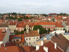 view of Sopron from the Firewatch Tower
