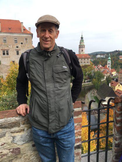 Mike in Český Krumlov