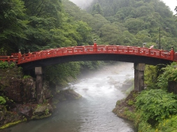 Shinkyo Bridge in Nikko