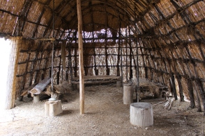 The American Indian Village at Patuxent River Park